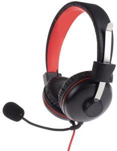 Geekhome Universal Gaming Headset – Stereo Video Game Kopfhörer mit abnehmbarem Mikrofon – Faltbar - Lautstärkenregler - Ergonomisches Design - Geringes Gewicht – Hoher Komfort – 3,5 mm Klinke für PS4, Switch, Xbox One, PC, Laptop, Handy, Smartphone, Tablet
