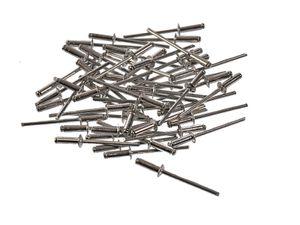 100x Blindnieten 3,2 x 9 mm aus Aluminium