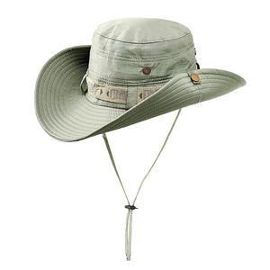 Im Freien faltbarer Sun-Hut-Sommer-UVschutz-Safari-Kappen-Fischen-Jagd-Hut Outdoor Foldable Sun Hat Summer UV Protection Safari Cap Fishing Hunting Hat