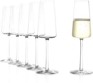Stölzle Lausitz 6er Set Power Champangnerglas Champagnerkelche 240ml Sektgläser 1590029