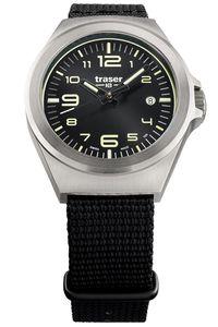 traser H3 108637 Armbanduhr in Unisexgröße P59 Essential S Schwarz