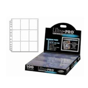 Ultra Pro Ordnerseiten 9 Pocket Pages Platinum Series (100)