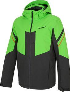 Ziener Herren Wintersport Skijacke Ski-Jacke Winterjacke POMOKA man grün schwarz, Größe:58
