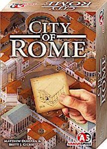 City of Rome, Brettspiel (DE), für 2 bis 4 Spieler, ab 10 Jahren