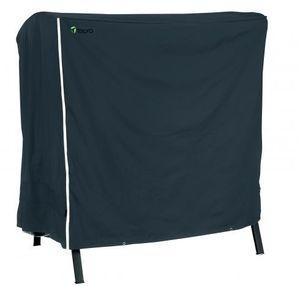 Tepro-Grillschutzhülle-Universal Abdeckhaube - Gartenschaukel 3 Sitzer, schwarz; 8123