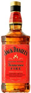 Jack Daniels Tennessee Fire Whiskey 35% 1,0L