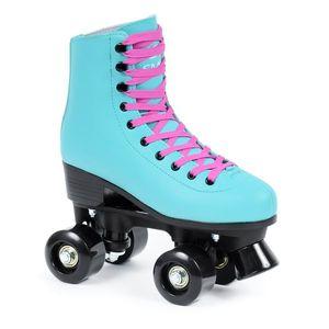 SMJ SPORT Damen klassische Rollschuhe Roller Skates Inliner Inlineskates Retro - Gr. 38
