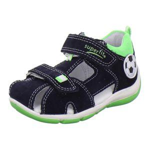 superfit - Kinder klassische Sandale Blau Schuhe, Größe:24