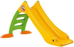 Dohany 2in1 Kinderrutsche Rutsche Wasserrutsche freistehend Rutschlänge 120cm gelb/grün