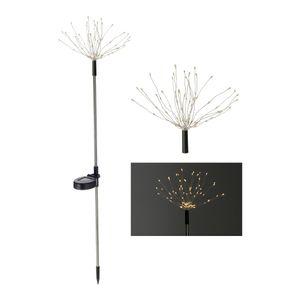 LED Solar Gartenstecker FIREWORK - Höhe ca. 80 cm