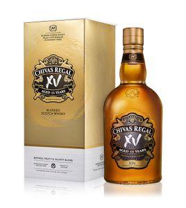 Chivas Regal XV 15 Jahre Blended Scotch Whisky in Geschenkpackung | 40 % vol | 0,7 l