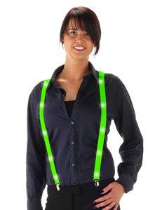 Folat hosenträger aus geführtem Polyester grüne Größe