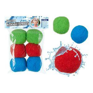 Toi-Toys Splash Balls, Wasserbomben, Waterbombs bunt (6 Stk.)