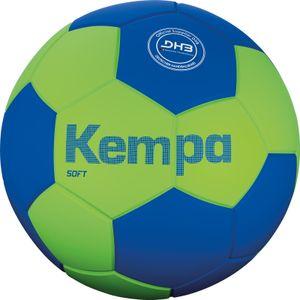 Kempa Leo Soft Handball spring grün/azurblau