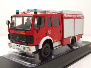 Mercedes LF 16/12 Feuerwehr Essen 1995 rot Modellauto 1:43 ixo models