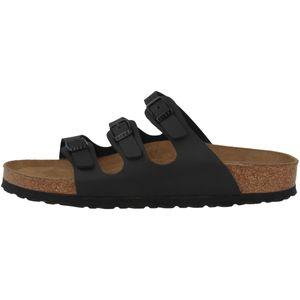 BIRKENSTOCK Florida Damen klassische Sandalen Schwarz Schuhe, Größe:39