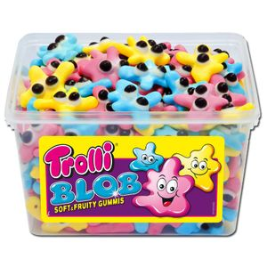 Trolli Blob Fruchtgummi Soft und Fruity Mellow und Gummis 1200g