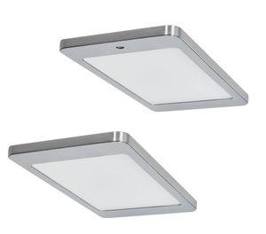 LED Unterbauleuchte Küche 2x4,8 W, Küchenleuchte Kyra, Sensorschalter