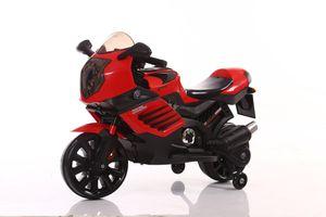Elektrokindermotorrad Elektromotorrad Kindermotorrad elektro Kinderauto Motorrad, Farbe:Rot