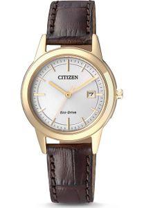 Citizen Sportuhr Eco Drive Solar Damen Armbanduhr FE1083-02A