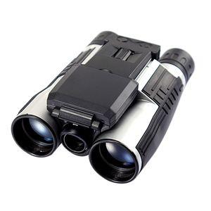 """Digitalkamera Fernglas 12x32 High Definition Teleskop für den Außenbereich Multifunktionales Videoaufzeichnungsfernglas mit 2 """"LCD Display"""