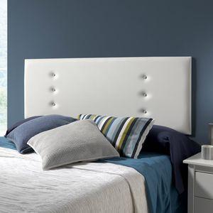 Ibiza Kopfteil für Bett, 160 X 55 Farbe Weiß