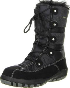 ConWay Damen Winterstiefel Snowboots schwarz, Größe:38, Farbe:Schwarz