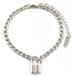gliederarmband Lock Damen 16 mm Edelstahl silber