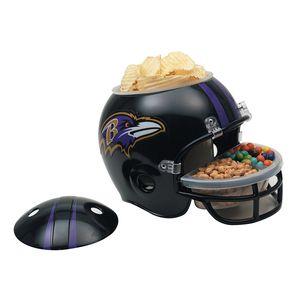 NFL Football Snack Helm der Baltimore Ravens für jede Footballparty
