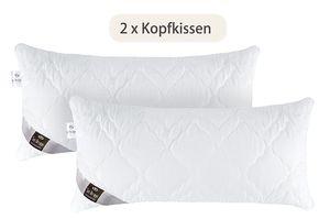 Sei Design DOPPELPACK Kopfkissen 40x80cm aus der AIR DREAM COMFORT COLLECTION