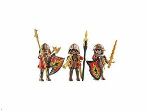 PLAYMOBIL Ritter - 9838 - Drei Burnham Raiders