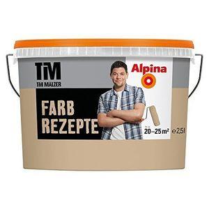 Alpina Farbrezepte Innenfarbe Wandfarbe matt, 2,5 L Petrol de Luxe