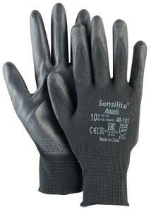 Ansell Handschuh SensiLite 48-101 Gr.10 schwarz