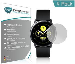 """4x Slabo Displayschutzfolie für Samsung Galaxy Watch Active MATT """"No Reflexion"""" (verkleinerte Folien) Displayfolie Schutzfolie Folie"""