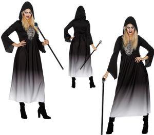 Halloween Kleid mit Kapuze Gr. 36 - 48 von Wilbers -  Verkleidung Fasching Dame Gr. 44 - L