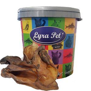 100 Stk. Lyra Pet® Rinderohren ca. 7 kg in 30 L Tonne