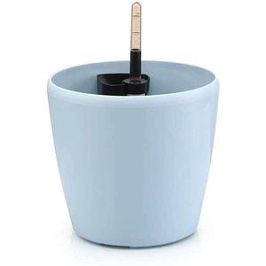 Mllaid Kunststoff-Blumentopf mit Wasserstandsanzeiger Dekorativer Blumentopf für drinnen und draußen Schöner Blumentopf