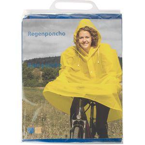 Regenponcho, Gelb/Blau, Farblich Sortiert, -Unisize-, Messingschlager, 715153