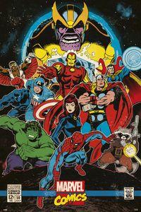 Marvel - Comics - Heroes - Poster Plakat Druck 61x91,5 cm