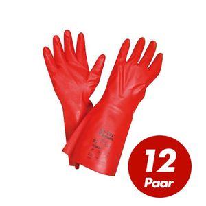ANSELL Chemikalienschutzhandschuhe Solvex Premium 37-900 - Chemie-Schutz - 12 Paar Größe:10