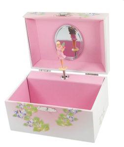 Kinder Schmuckkästchen Elfe Daisy + Spieluhr Schmuckkasten Ballerina