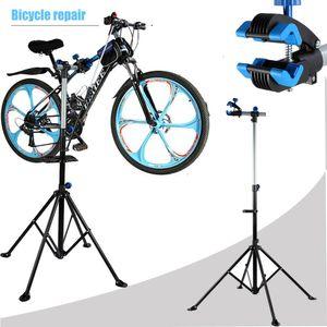 Schwerlast Fahrrad Montageständer Reparaturständer Fahrradständer 360°Rotierend Zentrierständer Workstand 103-190cm