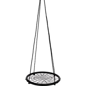Small Foot 4915 Netzschaukel zum Sitzen und Liegen, schwarz, schwarz (1 Stück)