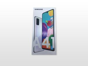 Samsung Galaxy A41 Android Smartphone, Farbe:Weiß