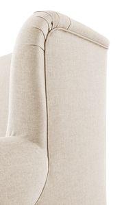 Max Winzer Mareille Big-Sessel inkl. 2x Zierkissen 55x55cm + 40x40cm - Farbe: creme - Maße: 103 cm x 149 cm x 103 cm; 2902-754-1645215-F09