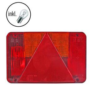 Anhängerbeleuchtung Rückleuchte 6-Kammerleuchte 21,5x13,5x5,5 cm für links