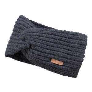 Barts Damen Stirnband Desire Headband Charcoal (dunkel grau)