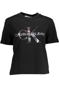 Calvin Klein Jeans New York Print Tee Ck Black L