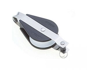 Umlenkrolle Block mit Bügel Gleitlager Kunststoff Edelstahl 12 mm ARBO-INOX