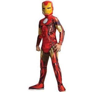 Iron Man-Kostüm für Kinder Karneval rot-gelb